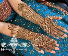 Bridal Mehndi on Hands