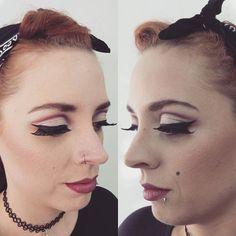 #makeupartist  #retrospectiva #años50
