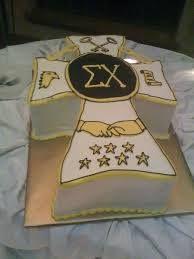 Sigma Chi cake