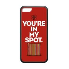 Amazon.com: The Big Bang Theory You're In My Spot! Case for iPhone 5/5s (Laser Technology): Cell Phones & Accessories