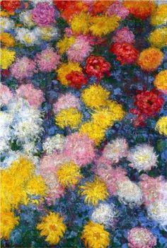 Chrysanthemums, 1897 - Claude Mone