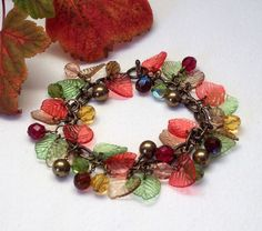 Autumn Leaves Bracelet £25.00