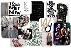 daily #inspiration - #leopard #black #gold