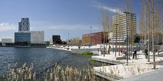 Almere Waterfront Panorama by Marc Geuzinge Photography, via Flickr