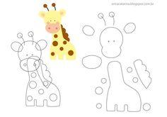 jirafas fieltro moldes y patrones imprimir05