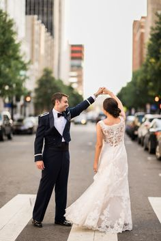 An Industrial-Chic Fall Wedding at The Stockroom at 230 in Raleigh, North Carolina