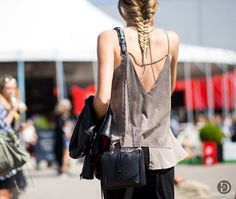 thetrendytale:  theurbanspotter:  Anne Sofie List   MORE FASHION...