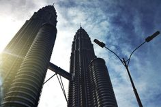 The Majestic Petronas Towers | Kuala Lumpur In 24 Hours - 5 Things To Do In 1 Day In Malaysia's Capital | City Travel Guide | via @Just1WayTicket