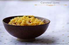 Indian Cuisine: Cornmeal Upma Recipe - Indian Upma Recipes