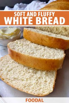 Baking bread at home can be so easy, especially with our recipe for soft and fluffy white bread. This basic loaf will be a favorite in your household for sandwiches, toast, and more. Ready to fill your home with a lovely aroma that will have everyone rushing to the kitchen? Read more now. #breadrecipes #baking #foodal
