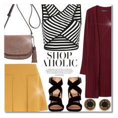 """""""Shop Aholic"""" by anilovic ❤ liked on Polyvore featuring MICHAEL Michael Kors, See by Chloé, Violeta by Mango, Gianvito Rossi and Marc by Marc Jacobs"""
