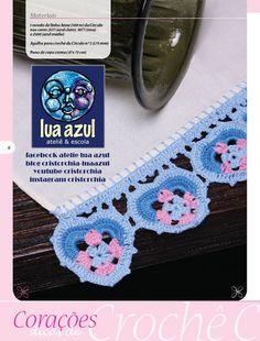 Ateliê Lua Azul: #passoapasso coração de croche