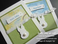Baby Bunny Punch Art: Stamp Your Art Out!