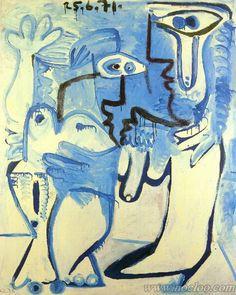 Picasso - Homme et femme (1971)