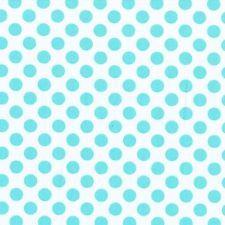 Tissu de coton fat quarter-michael miller-ta dot aqua