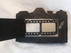 Tim Holtz vintage camera die mini album