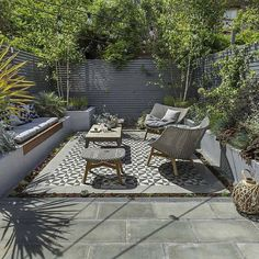 95 Small Courtyard Garden with Seating Area Design Ideas . - 95 Small Courtyard Garden with Seating Area Design Ideas Small Courtyard Gar - Modern Landscape Design, Modern Garden Design, Modern Landscaping, Backyard Landscaping, Landscape Architecture, Modern Design, Small Courtyard Gardens, Small Courtyards, Courtyard Design