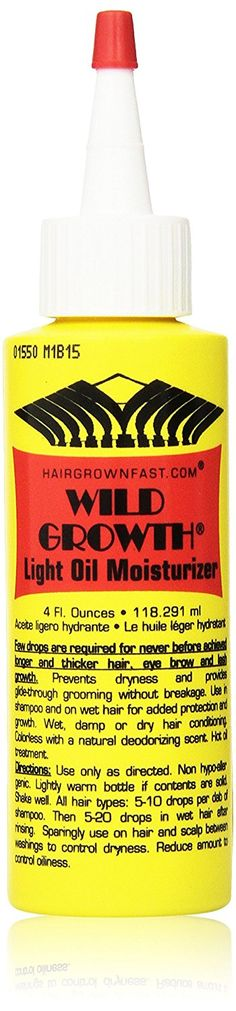 Wild Growth Light Oil Moisturizer 4 oz. (Pack of 2) >>> Check this awesome product by going to the link at the image. (This is an Amazon affiliate link)