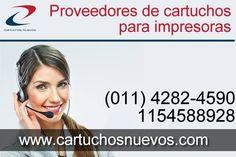 Conoces www.cartuchosnuevos.com ? el mayor stock de cartuchos para impresora disponible para tu empresa u hogar. ventas@cartuchosnuevos.com