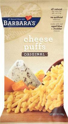 Barbara's Bakery, Cheese Puffs, Original, 7 oz (198 g)