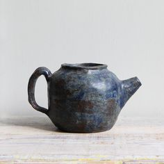 Vintage Ceramic Studio Pottery Teapot by ethanollie on Etsy, $52.00