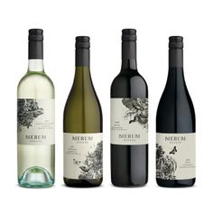 WINE PACKAGING FOR MERUM ESTATE by MANIFESTO DESIGN | Design Revolution Australia