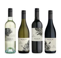 WINE PACKAGING FOR MERUM ESTATE by MANIFESTO DESIGN | Design Revolution Australia