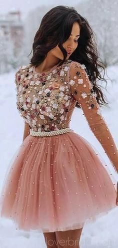 Long Sleeves Beaded Peach Homecoming Dresses Online, Cheap Short Prom Dresses, Source by The post Long Sleeves Beaded Peach Homecoming Dresses Online, Cheap Short Prom Dresses, appeared first on How To Be Trendy. Long Sleeve Homecoming Dresses, Cheap Short Prom Dresses, Cute Prom Dresses, Dresses For Work, Sexy Dresses, Summer Dresses, Wedding Dresses, Pretty Dresses, Fancy Dress Short