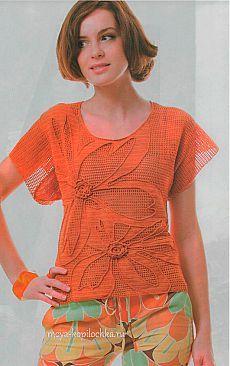 Красивый красный топ крючком в технике филе - Вязание - Моя копилочка Filet Crochet, Irish Crochet, Crochet Stitches, Crochet Patterns, Cotton Crochet, Crochet Lace, Crochet Summer Tops, Bolero, Poncho