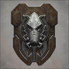 Dwarven Boar Shield by Seraph777 on DeviantArt
