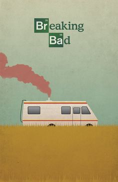 Breaking Bad Inspired Vintage Poster RV Cooking by ThePixelEmpire