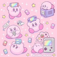 Kirby Memes 707839266416836410 - Arcade Healer Source by afanatief Arte Do Kawaii, Kawaii Art, Kawaii Anime, Kawaii Doodles, Kirby Nintendo, Cute Kawaii Drawings, Cute Animal Drawings, Stickers Kawaii, Kirby Character