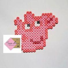 Peppa Pig hama beads by Agulla enfiada