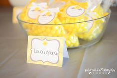 12 You Are My Sunshine Food Label Tent Cards or Place Cards - Baby Shower, Wedding, Birthday - Yellow & Grey, Pink or Blue on Etsy, $10.00
