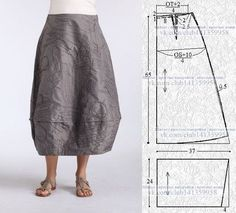 Amazing Sewing Patterns Clone Your Clothes Ideas. Enchanting Sewing Patterns Clone Your Clothes Ideas. Sewing Dress, Skirt Patterns Sewing, Sewing Clothes, Clothing Patterns, Pattern Skirt, Fashion Sewing, Diy Fashion, Rock Fashion, Skirt Fashion