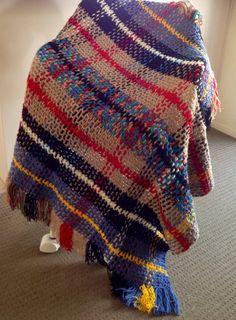 Handmade Toddler Tartan Crocheted Blanket on Etsy, $35.00 AUD