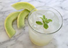 """This Refreshing Melon Water Was Made From Kitchen Scraps I """"Try making this refreshing melon water drink the next time you're slicing up honeydew or cantaloupe for breakfast. No blender needed."""""""