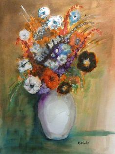 Csendélet fekete virággal. Techno, Painting, Art, Art Background, Painting Art, Kunst, Paintings, Performing Arts, Techno Music