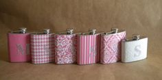 Personalized flasks for your bridesmaids