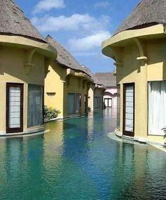 Bali Indonesia swim resort