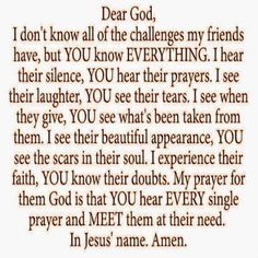 thoughts to inspire your day! : are YOU a friend to Jesus? Prayer Scriptures, Bible Prayers, Faith Prayer, God Prayer, Power Of Prayer, Prayer Quotes, Faith Quotes, Spiritual Quotes, Bible Verses