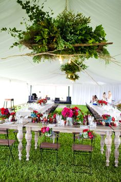 #tablescapes Photography by karenbuckle.com.au Event Design + Styling by clweddingsandevents.com.au/ Bouquets + Ceremony Floral Design by mondofloraldesigns.com.au Reception Floral Design by twigandgrace.com/  Read more - http://www.stylemepretty.com/2013/06/04/australia-wedding-from-karen-buckle-photography/