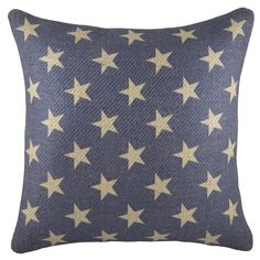 You'll love the Patriotic Stars Burlap Throw Pillow at Birch Lane - With Great Deals on all products and Free Shipping on most stuff, even the big stuff.