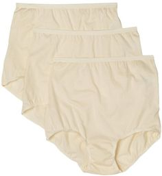 Vanity Fair Women's Lollipop Plus Size Brief Panties 3 Pack 15861 * You can get additional details at the image link.