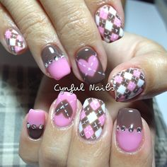 In look for some nail designs and ideas for your nails? Listed here is our list of 14 must-try coffin acrylic nails for fashionable women. Great Nails, Cute Nail Art, Beautiful Nail Art, Argyle Nails, Plaid Nails, Fancy Nails, Trendy Nails, Hot Nails, Hair And Nails