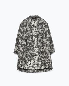 This palm print kimono from Zara is perfect for spring / summer layering. Wear with....