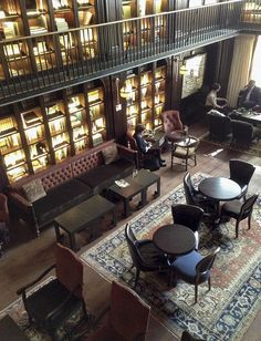Nomad Hotel library room - NYC