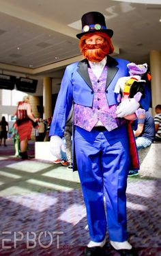 John Yates as Dreamfinder at MegaCon 2014.