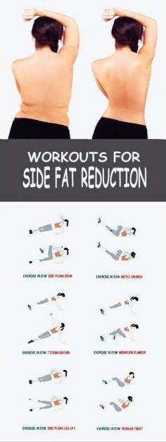 8 Effective Exercises To get rid of Side Fat – BS/U