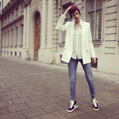 timeless design c97f2 fef53 black Nike Blazers Outfit, Blazer Outfits, Work Outfits, Nike Outfits, Casual  Outfits